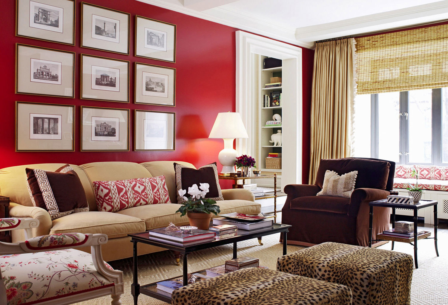 Rustic Glam Wall Paint Mamas Tipsy Sippy E Red Wall Living Room Part 27